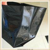 De biologisch afbreekbare en Composteerbare Zwarte Poly Geluchte Zak van de Zaailing van de Boom van de Installatie