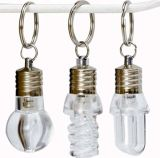 LED Light Keyring in Bulb Shape