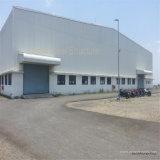 Structure métallique de construction des prix d'entrepôt en acier bon marché de grande envergure