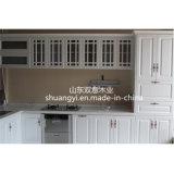 Module de cuisine blanc lustré élevé de laque à vendre