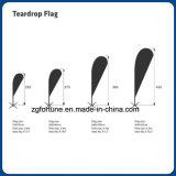 Feder-Markierungsfahnen-im Freienbekanntmachenqualität gedruckte Teardrop-Strand-Markierungsfahne
