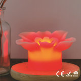 Vela de Flamless LED de la flor