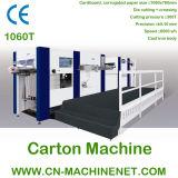Caixa de placa de cartão Zj-1060t e máquina de fabricação de cartão de folha orrutada