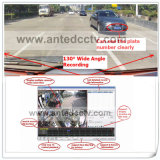 WiFi及びGPSの追跡の4つのチャネルSDのカードの高い画像移動式DVR
