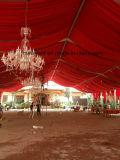 15*40m zeichnendes Dekoration-Hochzeits-Zelt mit Leuchter