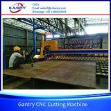 Труба нержавеющей стали плазмы CNC Gantry и машина резца плиты с kr-Xgb оборудования удаления пыли