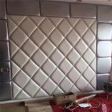 cuir mou d'unité centrale de Roolls de mur 3D de panneau de décoration de mur de feuille décorative acoustique de panneau