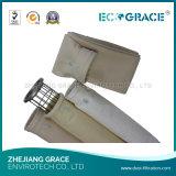 Sacchetto filtro della polvere del tessuto del filtro da PPS per gli inceneratori residui