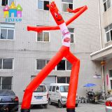 Aufblasbares Skydancer, das Luft-Tanzen-Mann-Himmel-Tänzer-Marionetten bekanntmacht