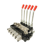 Valvola di regolazione idraulica di Monoblock di Multi-Modo delle bobine ZL12 5 per i camion di punta