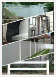 Placa de painel amigável da cerca do vinil do painel da cerca do PVC de Eco