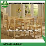 Mobília da sala de jantar da madeira contínua ajustada (PESO W-5S-94)