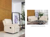 Competitive Price Leather Sofaの白いColor Promotion