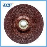 Roda de moedura bond reforçada T27 da resina
