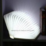 USB Power From中国Supplierとの高品質Wooden Folding LED Book Lamp