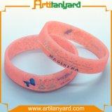 Wristband del silicone di Diect della fabbrica con il regalo