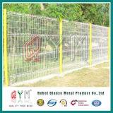 O PVC revestiu o painel soldado ferro soldado 3D da cerca do engranzamento de fio da cerca do engranzamento de fio