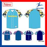 Modèle neuf de maquette de Healong Camo de chemise du Jersey de base-ball