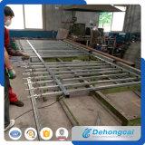 Recinzione d'acciaio del ferro saldato della costruzione