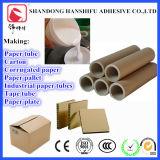 Adhesivo de almidón de maíz para el tubo de papel