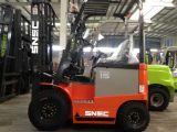 Prix de chariot élévateur de pile électrique du moteur à courant alternatif 1500kg