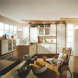 デザイン標準的で白いカスタマイズされた食器棚を放しなさい