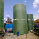 Réservoir d'enroulement de plastique renforcé par fibre de verre de FRP pour l'industrie chimique