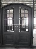 아파트 건물 강철 입구 철 문 및 문