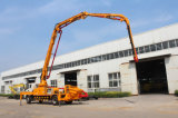 Diesel vrachtwagen-Opgezette Concrete Pomp 25m 28m 32m 37m 48m
