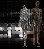 Mannequins do cromo para o vestido do indicador