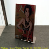 Freies Acrylgroßhandelsregal für Zeitschriften