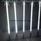 Indicatore luminoso della meteora della stringa del LED 5 PCS per la decorazione di cerimonia nuziale del giardino