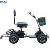 Chariot de golf électrique pliable facile à installer avec un moteur puissant 24V 1000W