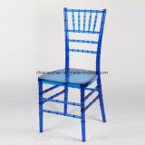 Cadeiras desobstruídas de Chiavari da resina do policarbonato de Champagne