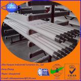 Fabricante de China de rodillo de cerámica de temple de cristal de alta temperatura del horno