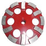 Disco di molatura del diamante per il polacco concreto di marmo del granito