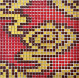 Mosaico decorativo della Camera di disegno della parete moderna della stanza da bagno