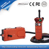 Controle de rádio industrial Telecrane de escala longa do Sell quente F21-2s