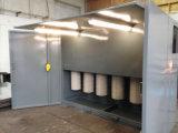 Cabine d'enduit de poudre avec la Chambre de traitement au four de température élevée