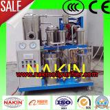 Sistema di purificazione dell'olio lubrificante di vuoto, olio che ricicla macchina