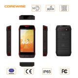 Het androïde Apparaat van de Kern van Vierling 5 '' Ruwe Handbediende Mobiele met De Scanner van de rfid- Streepjescode