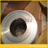 Vernikkelde koperstrook/de strookVertinning van het folie Vernikkelde staal