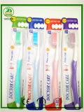 Cepillo de dientes libre del paquete del tubo de la alta calidad con el casquillo