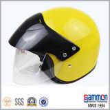 여십시오 특대 챙 (OP211)를 가진 마스크 기관자전차 또는 스쿠터 헬멧을