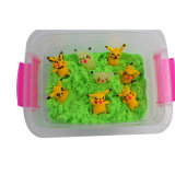 Resin Pikachu Theme Play Sand Toys for Kids Playing