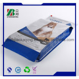Fabricante OEM Quad Seal Plastic Cat Litter Packaging Bag