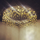 Luxury personalizado Crystal Bubble Ball Light para o `de Hotel Restaurant