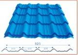 Curvando a telha de telhadura vitrificada corrugada