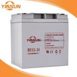 batería solar recargable de 12V 24ah para el sistema de la UPS, solar y de alarma