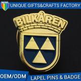 顧客3Dのロゴの警察のバッジの使用を用いる金属のバッジ